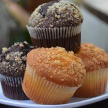 Muffins de Vainilla y Chocolate